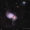 M51 in LHaRGB,                                Scott
