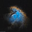 NGC281 Pacman nebula Ha_SHO starless,                                lukfer