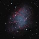 M1 Crab Nebula on a Good Seeing night,                                lowenthalm