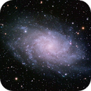 M33 The Triangulum Galaxy,                                  Trevor Gunderson
