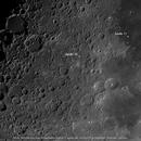 Moon - Mare Nectaris, Tranquilitatis and Apollo 11 landing site,                                Axel Kutter