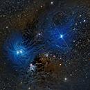 NGC 6726, 6727, 6729, IC 4812, Be 157  (many Herbig-Haro Objects),                                Alex Woronow