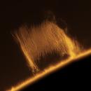 Solar prominence,                                Hans H.