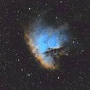Pacman Nebula,                                  fibble