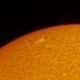 Active Region on the Sun,                                Chappel Astro