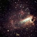 M17 Swan nebula,                                Liam2186