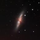 M82 - Cigar Galaxy - 17 JAN 2018,                                Timothy Fukuyama