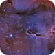 IC 1396 - Hubble palette,                                Peppe.ct