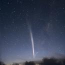 Comet Lovejoy blazes over Port Kembla skies,                                Joe Perulero