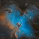 The Eagle Nebula  M16,                                Logan Carpenter
