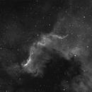 NGC7000 Ha,                                Gerhard Henning