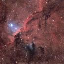 Fighting Dragons of Ara - NGC 6188,                                Delberson