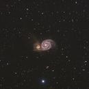 M51 Whirlpool Galaxy,                                Jeff Kraehnke