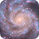 Center of the Pinwheel M101 with 140mm APO,                                Jonathan Young