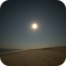 A Night Like Daytime on the Atlantic Shoreline at Assateague State Park,                    JDJ