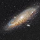 Andromeda Galaxy - M31,                                Rudy Pohl
