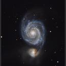 Whirlpool Galaxy (M51),                                Gabriel Cardona