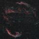 Cygnus loop / Veil nebula,                                Christopher Teppan
