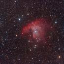 Pacman nebula,                                Zoltan Panik (ijanik)