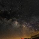 Milky Way over Germany,                                SCG