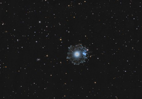 NGC 6543 Cat's Eye Nebula,                                  Peter Goodhew