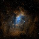 NGC 7635 - Bubble Nebula - SHO,                                Michael J. Mangieri