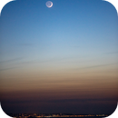 Moon and Venus in Sark Island - 3,                                  Pascal Gouraud