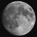 97.2% Waxing Gibbous Moon, May 24, 2021,                                Steven Bellavia