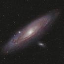 M31 • Andromede galaxy,                                Mikael De Ketelaere