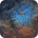 NGC 6820 in the Hubble Palette,                    Chuck's Astrophot...