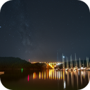 The Fjord, the Bridge and the Milkyway,                                Markus A. R. Langlotz