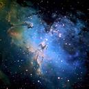 M16 The Eagle Nebula,                                Fred Bagni