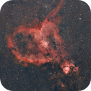 IC1805 - Hearth Nebula from Sofia,                                Sektor