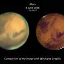 Mars - 6 June 2016,                                Geof Lewis