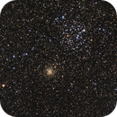 M35 and NGC2158, LRGB,  8.3 hrs,                                riot1013