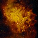 ic 405 Flaming Star Nebula,                                ewa