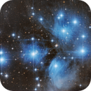 Pleiades closeup,                                Michael S.