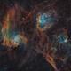 IC405 - IC410 - IC417,                                Philippe BERNHARD