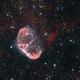 Crescent nebula NGC 6888,                                Peter Komatović