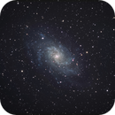 M33 with only 3,5 inch,                                  Christoph Lichtblau