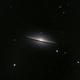 Sombrero Galaxy M104,                                Mat