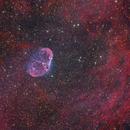 NGC6888 in HaGOiii,                                MrPhoton