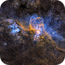 Statue of Liberty Nebula - NGC 3576,                                Andy 01