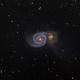 M51 - Whirlpool Galaxy,                                stricnine