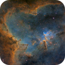 IC 1805 - Heart Nebula (SHO),                                Jean-Baptiste Auroux