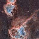 Heart & Soul Nebulae,                                Andrei Gusan