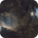"""""""Fire and Ice"""" Orion Horsehead SHO 135mm,                                  Martin Palenik"""