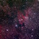 SH2 155, the Cave Nebula,                                Mauro Narduzzi