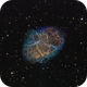 M1 The Crab Nebula in SHO,                                Frank Zoltowski