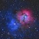 Trifid Nebula,                                Paul Hancock